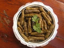 VINE LEAVES STUFFED WITH MEAT